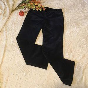 LOFT black corduroy trousers